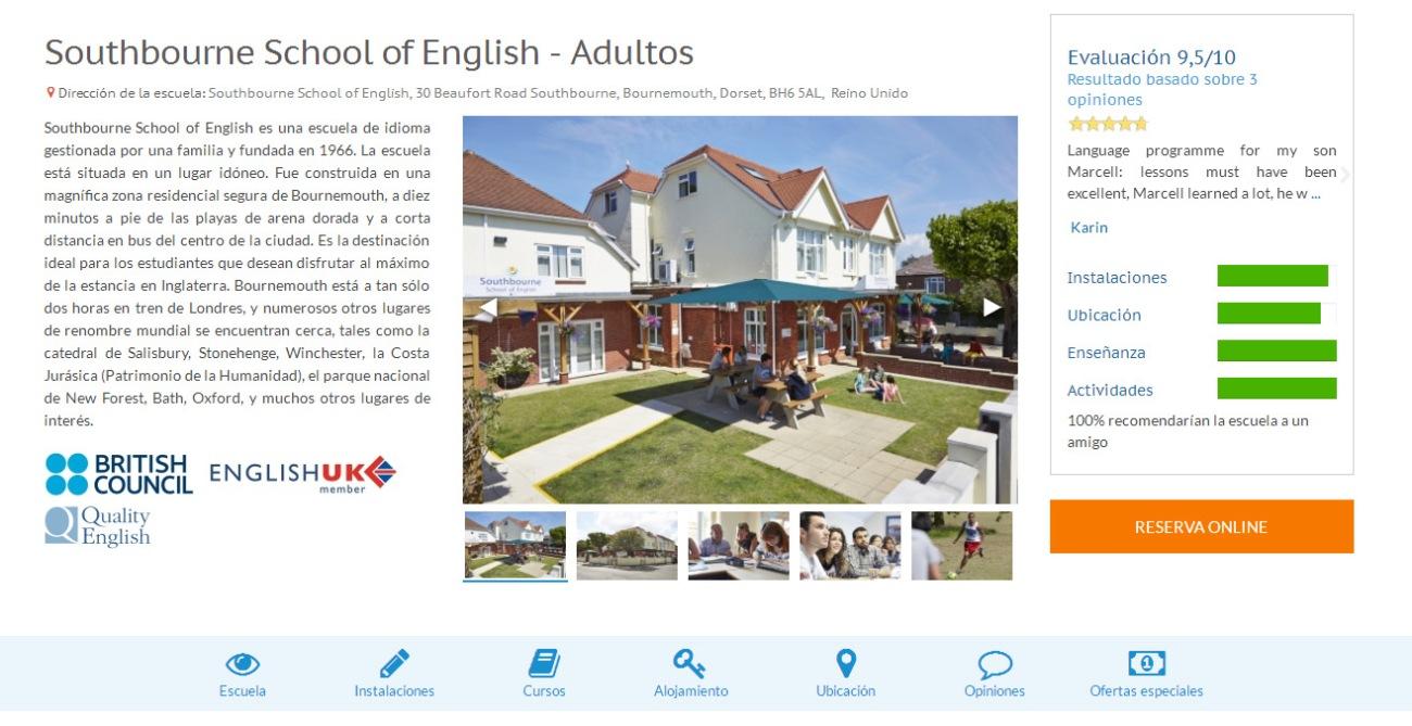 Linguago, una plataforma para encontrar cursos de inglés