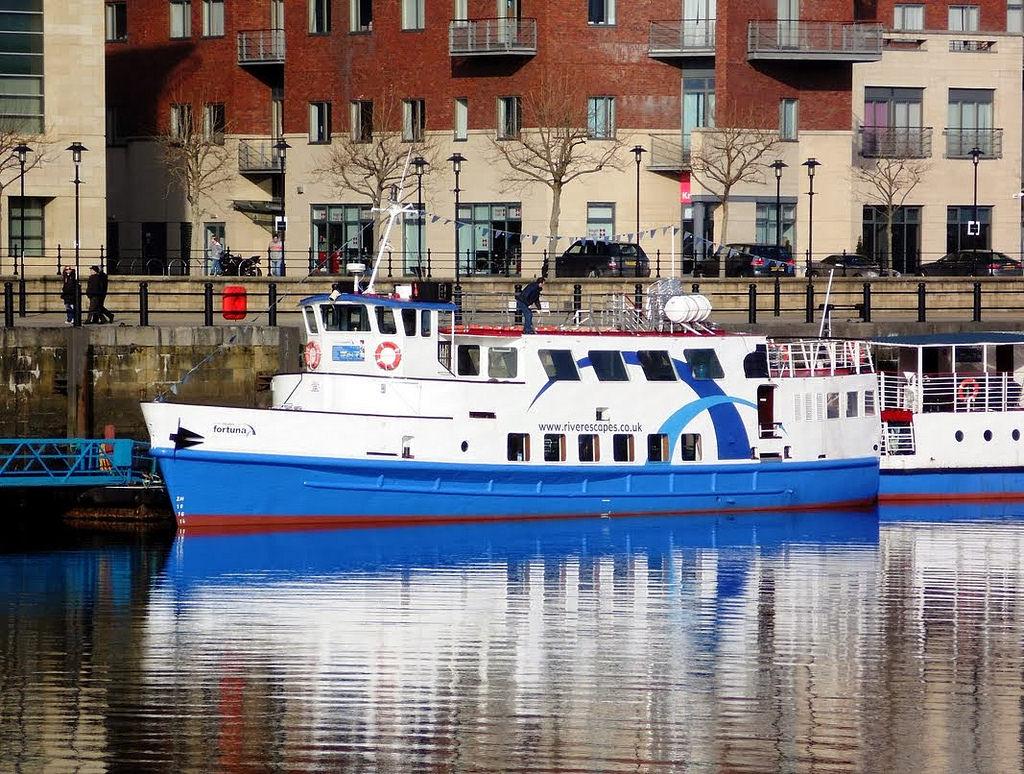 Paseo por el río Tyne, Newcastle