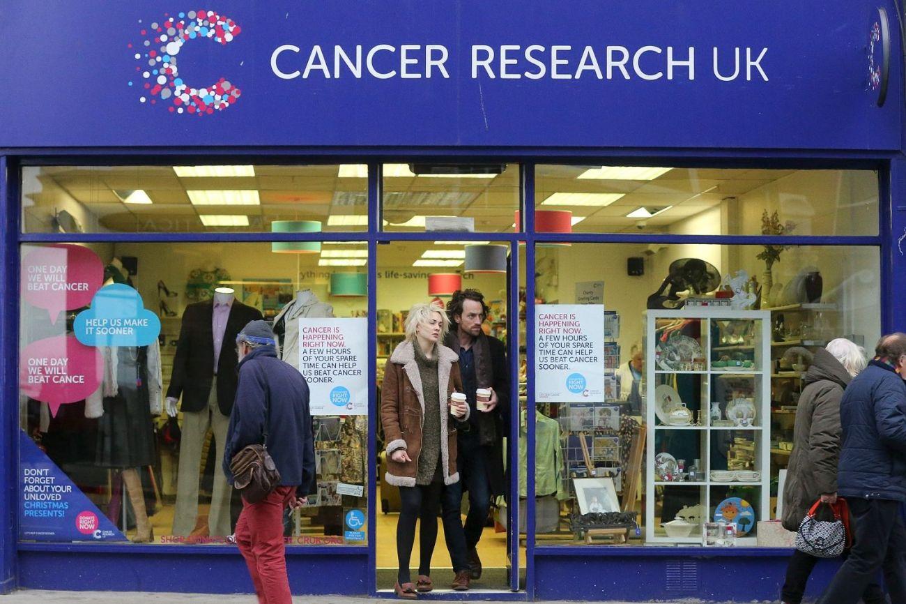 Charity shops en Reino Unido