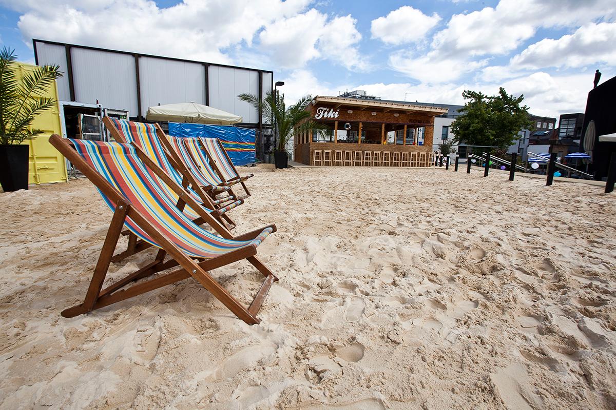 Camden Beach, en Roundhouse, Londres