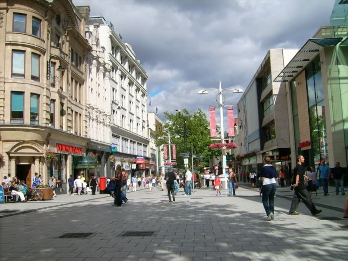 Queen Street, Cardiff