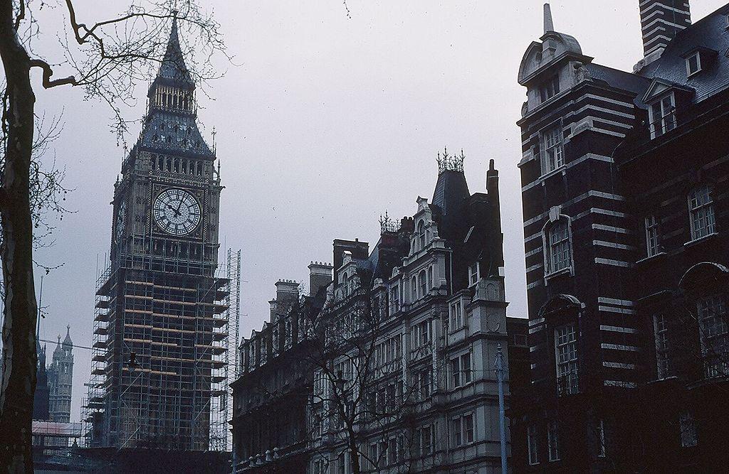 Construcción del Big Ben de Londres