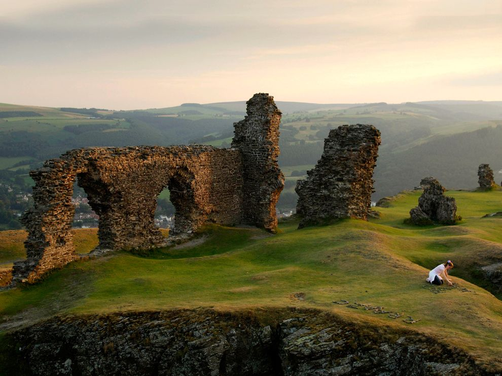 Castell Dinas Brân, Wales