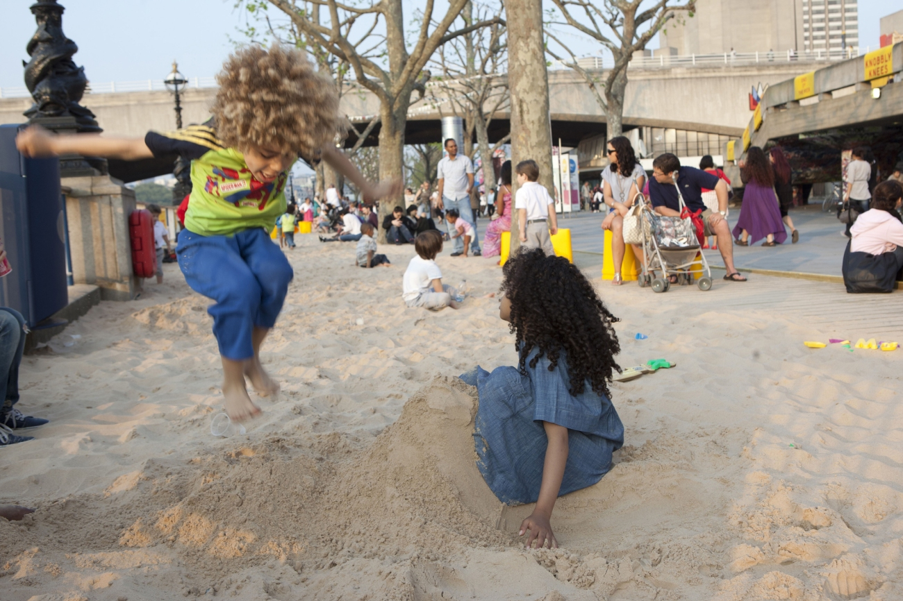 The Festival of Love Beach, Southbank, Londres
