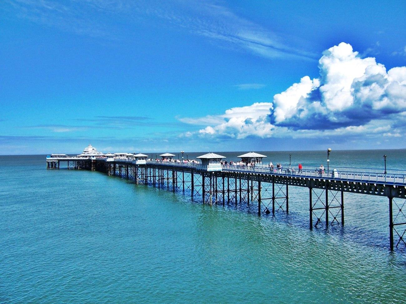 Llandudno Pier, Wales