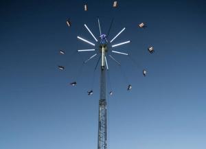Sky Swing, sillitas voladoras Liverpool
