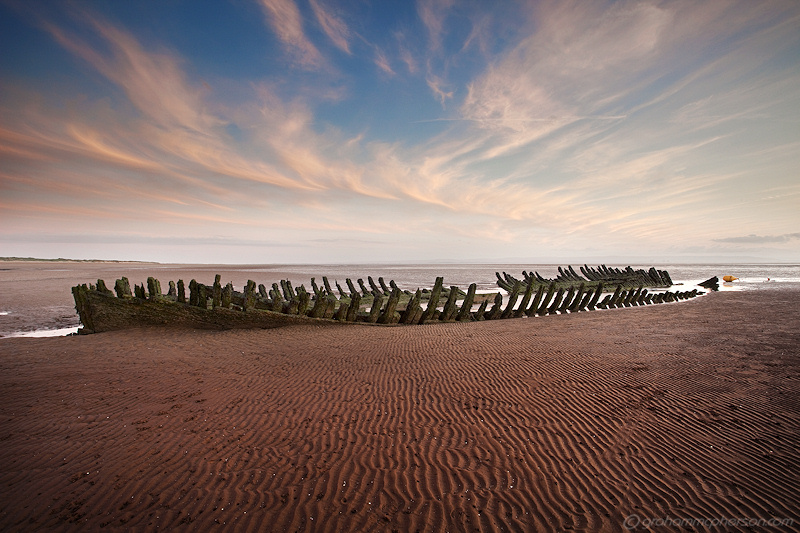 Berrow, Somerset. Playa cerca de Bristol