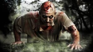 Persecución de zombies