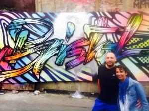 Fernando y Ana en el Upfest de Bristol