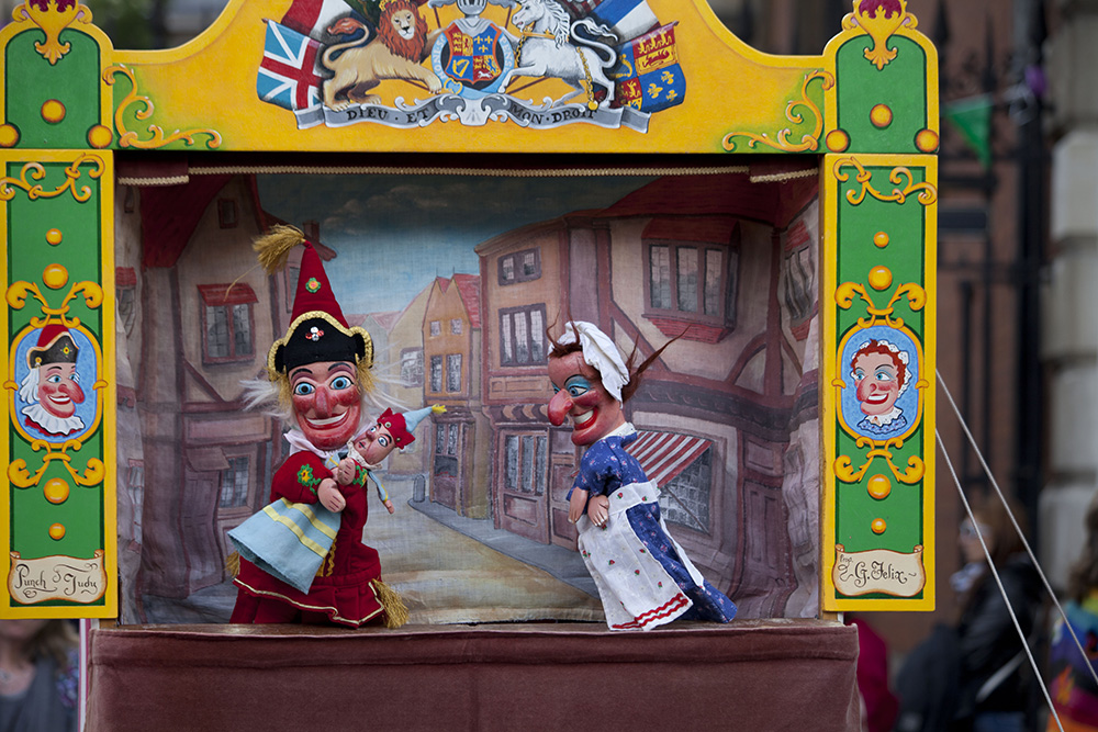 Las marionetas de Covent Garden, Londres