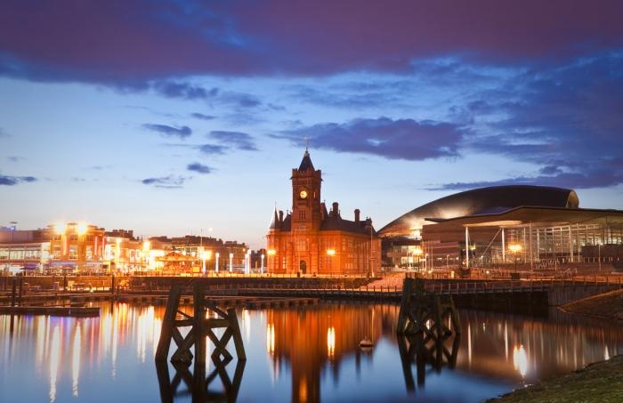 La bahía de Cardiff