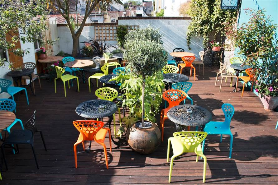 Grand Central Rooftop, terraza en Brighton