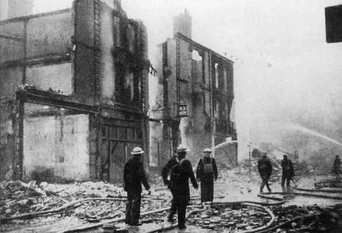 Stokes Croft en la Segunda Guerra Mundial