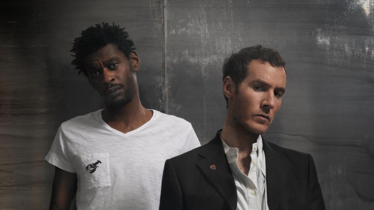 El cantante de Massive Attack, en primer plano
