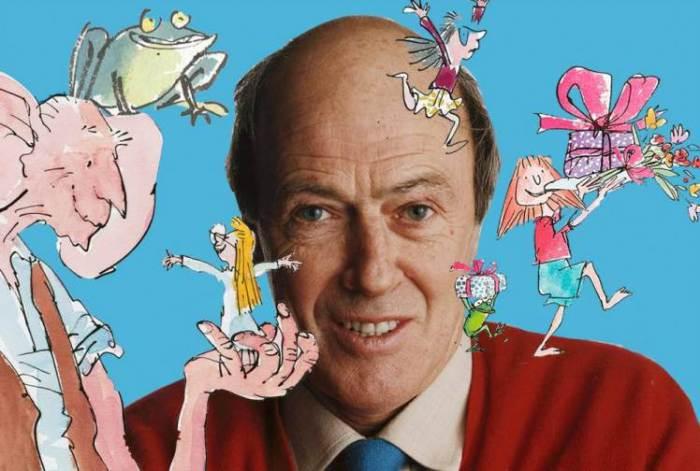 El escritor galés Roald Dahl