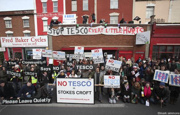Manifestación en contra de Tesco en 2011 / Mark Simmons