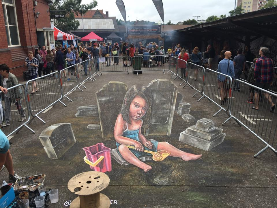 Graffiti Upfest Bristol 2016