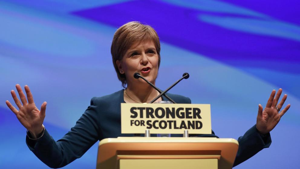 La principal ministra de Escocia, Nicola Sturgeon / Russell Cheyne
