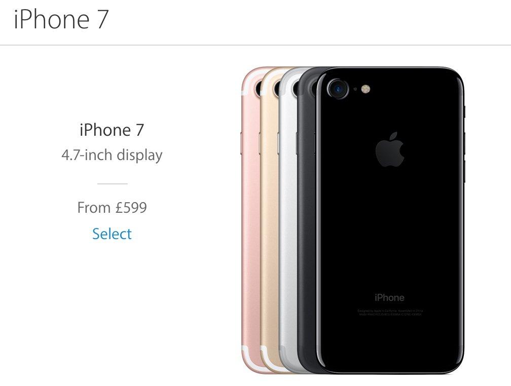 Al comprar un iPhone 7 en Reino Unido te ahorras alrededor de 100 euros.