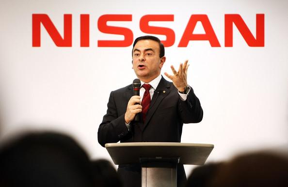 El presidente de Nissan, Carlos Ghosn