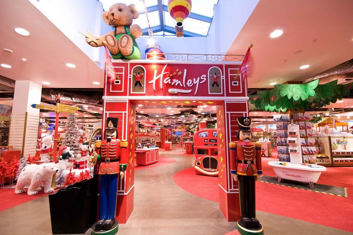 Tienda de juguetes Hamleys, en Londres
