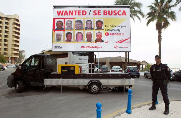 Los 10 fugitivos británicos más buscados en España