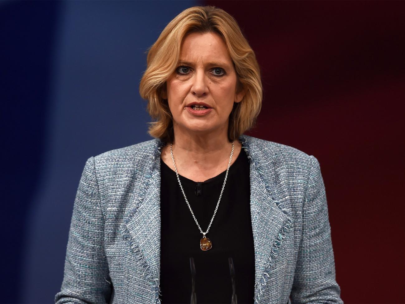 La ministra de Interior Amber Rudd