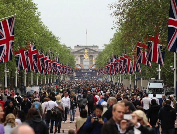 21,1 millones de personas visitaron Reino Unido hasta el mes de julio