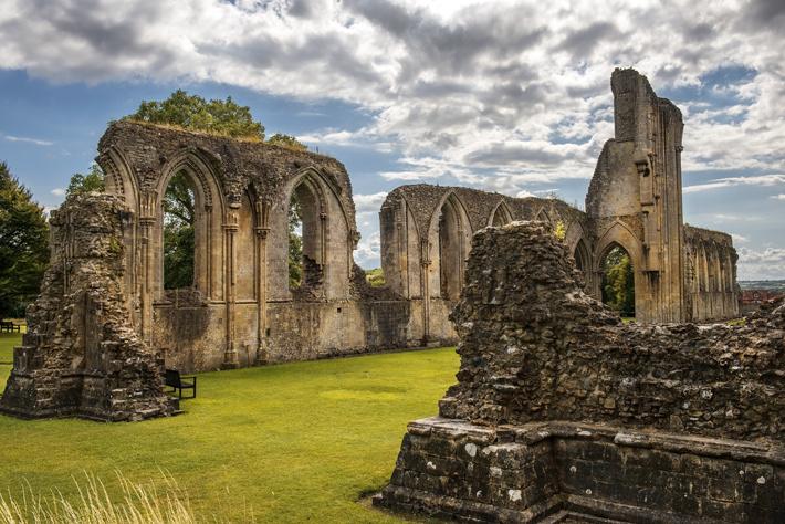 La Abadía de Glastonbury, en Somerset