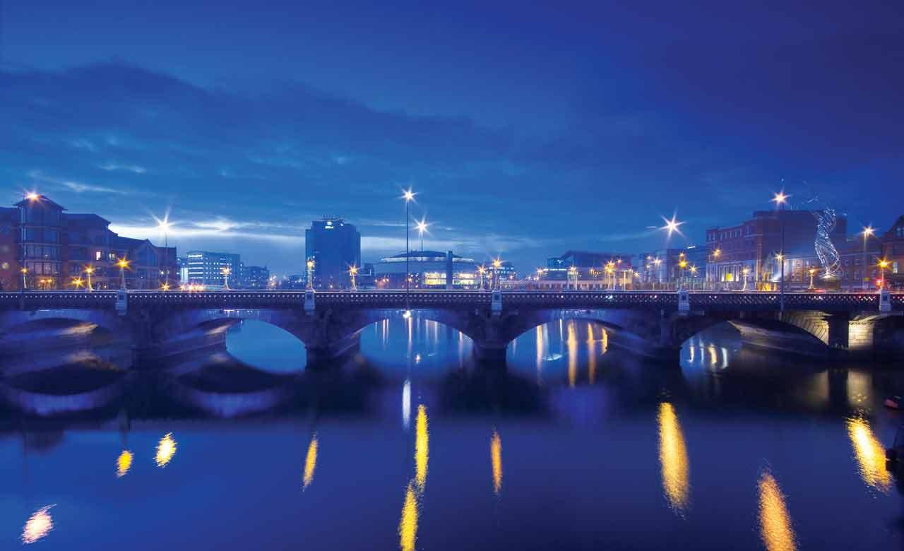 Belfast de noche