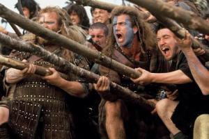 Película rodada en Escocia, Braveheart