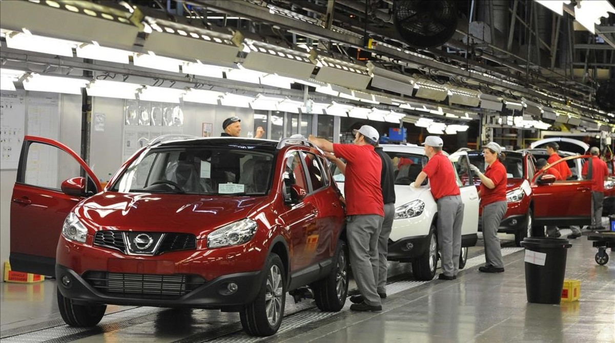 Trabajadores de la marca Nissan en Sunderland / Nigel Roddis.