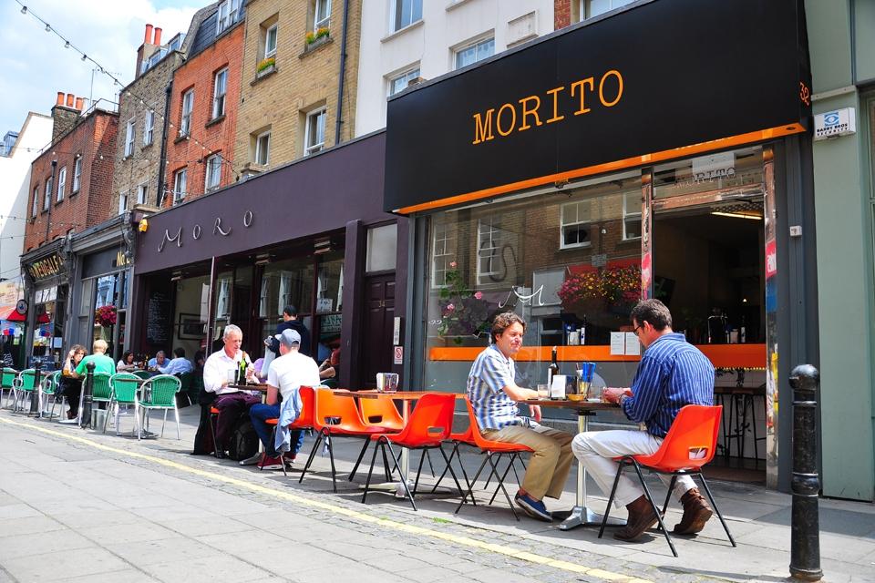 Morito, restaurante español en Londres