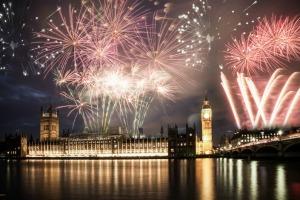 Fin de año en Reino Unido, Londres