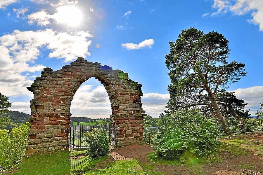 Hawkstone Park, en Shropshire