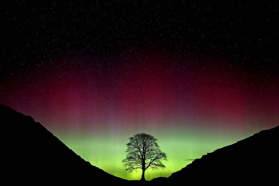 Aurora Boreal, en Northumberland