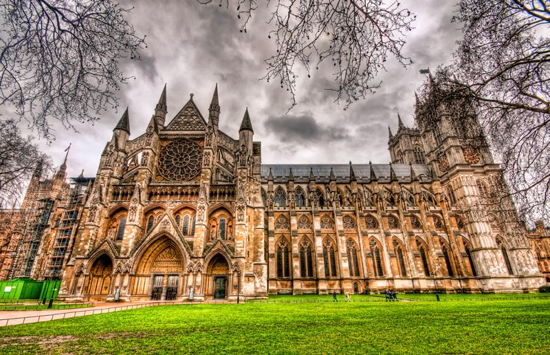 Abadía de Westminster, en Londres