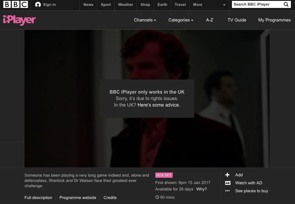 bbc location restriction