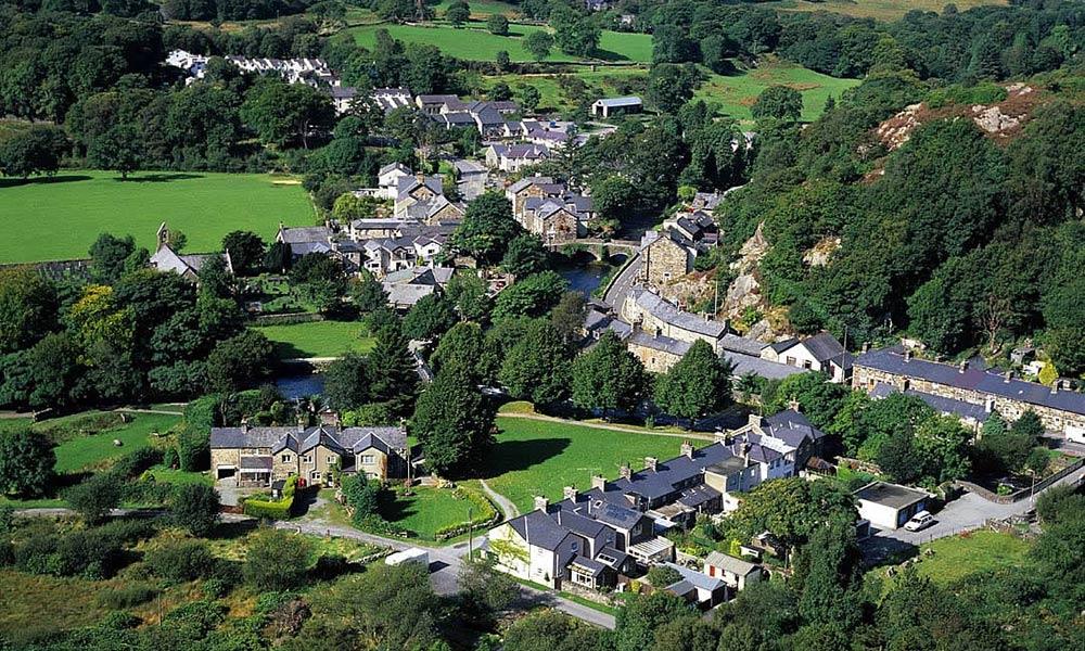 Beddgelert, en Snowdonia, Gales