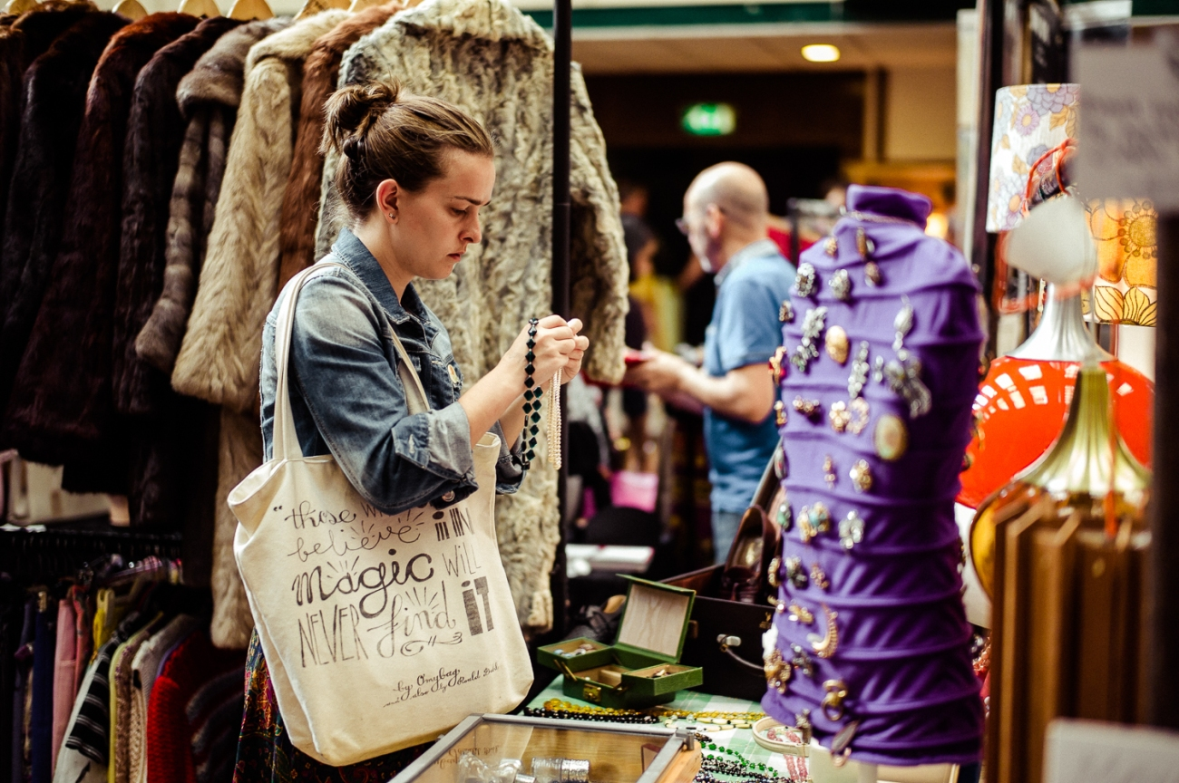 Bethnal Green Vintage Fair, en Londres