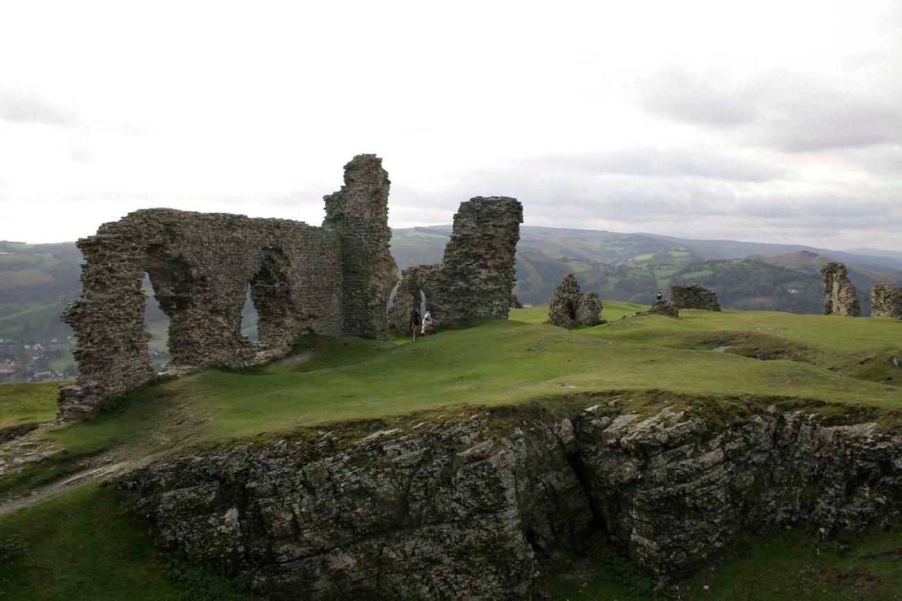 Dinas Brân Castle, en Gales