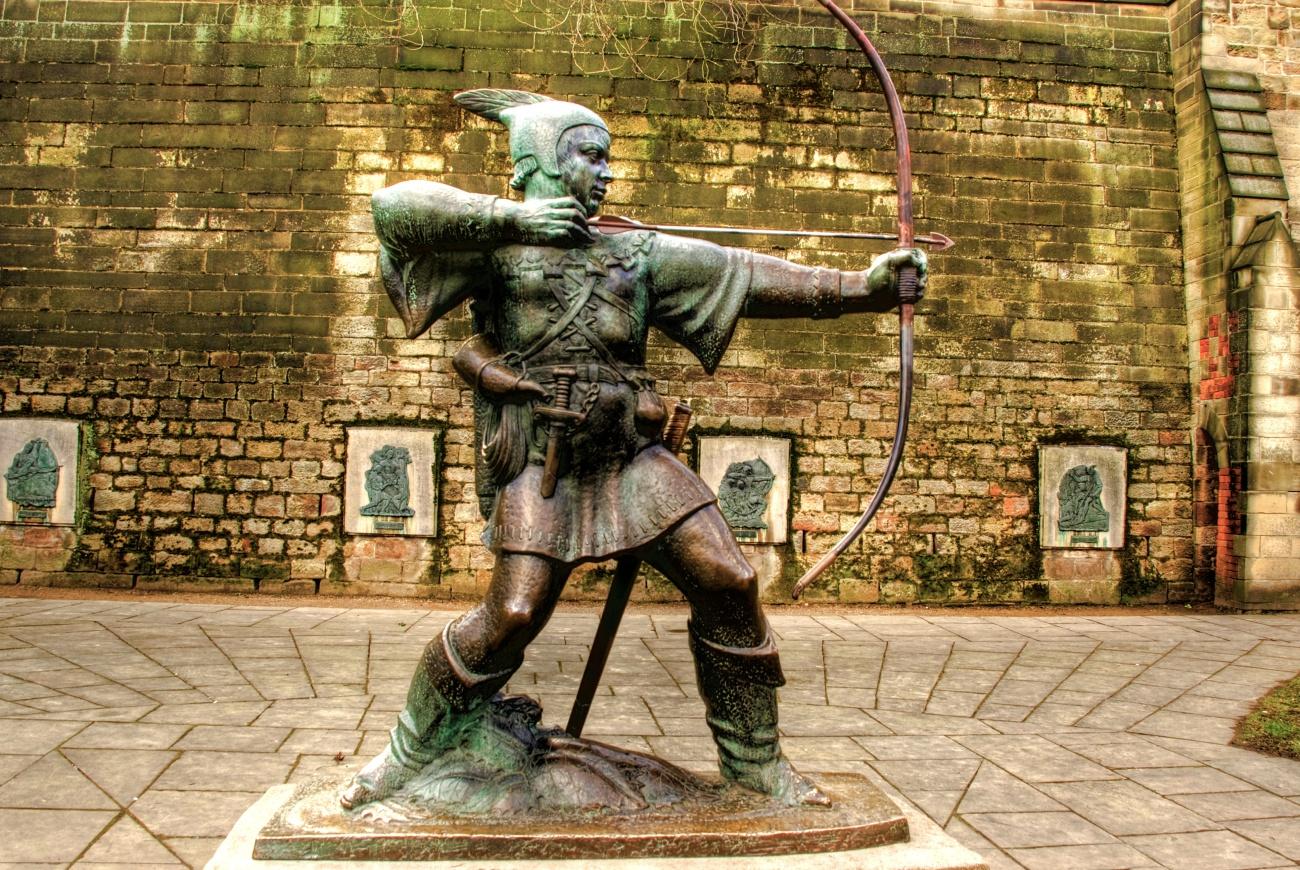 Robin Hood en Nottingham