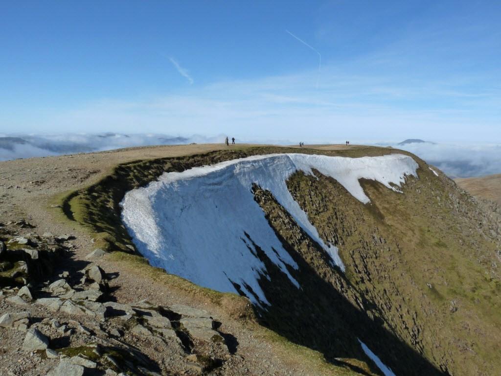 El pico Helvellyn, en Cumbria