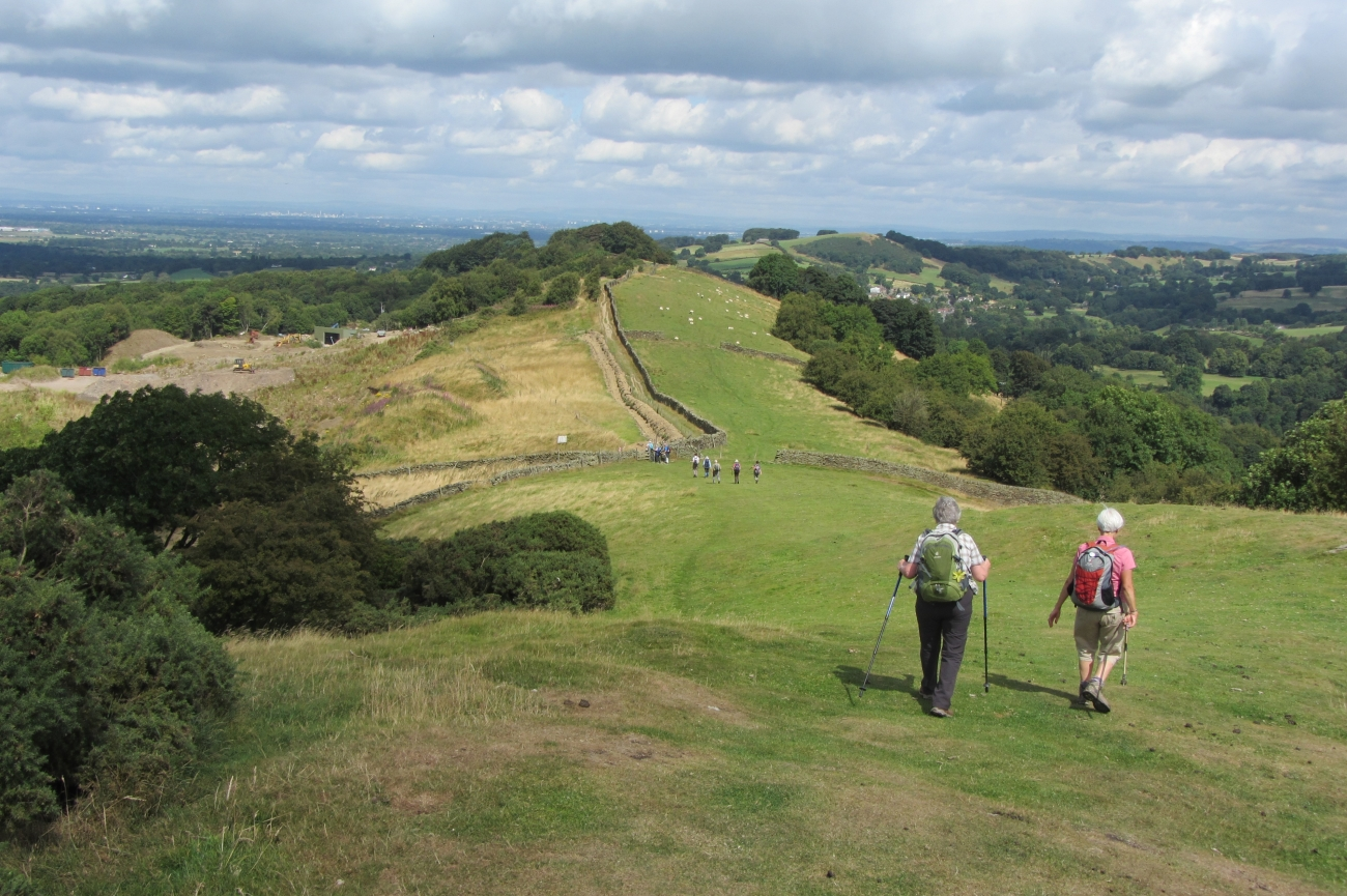 Gritstone Trail, en Cheshire