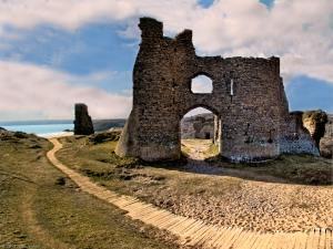 Pennard Castle, en Gales