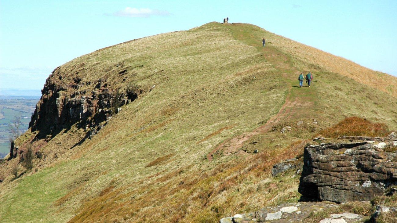 Skirrid, en Gales