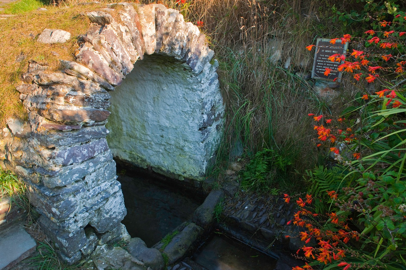 St Non's Well, en Gales