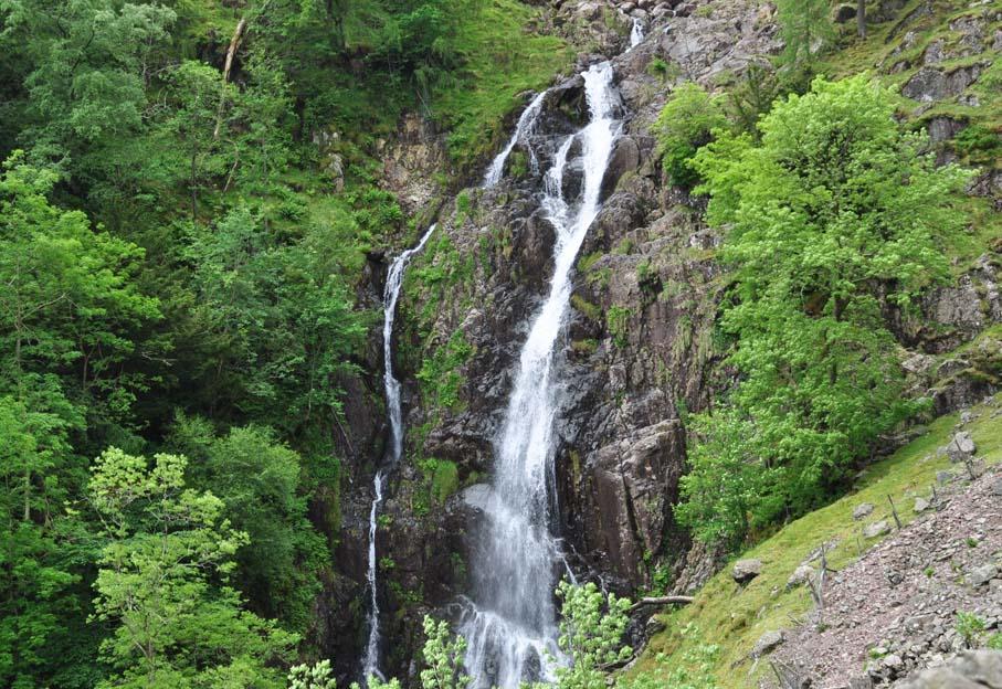 Las cascadas de Taylor Gill Force, en Cumbria