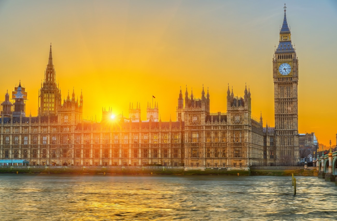 Palacio de Westminster, en Londres