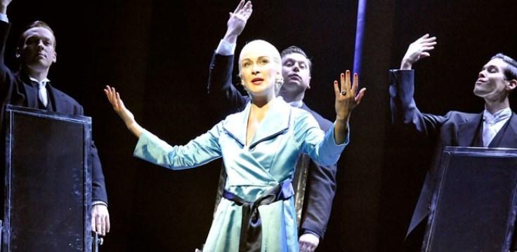 El musical 'Evita', en Edimburgo